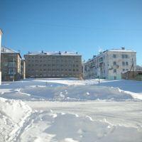 Гремячинск, центр зимой, Гремячинск
