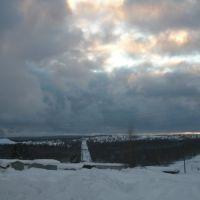 Гремячинск, зимний вид на посёлок Северо-западный, Гремячинск