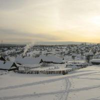 Гремячинск, микрорайон Шахтёрский зимой, Гремячинск