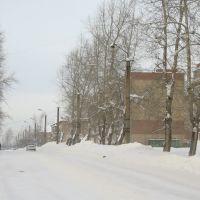 Гремячинск, ул. Ленина зимой, Гремячинск