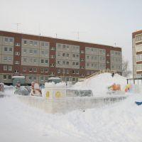 Снежный городок в Гремячинске 2010 г., Гремячинск