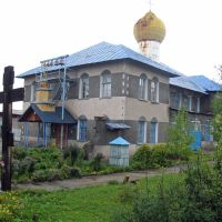 Kirche in  Gubakha (Приход церкви владимирской иконы божией матери), Губаха