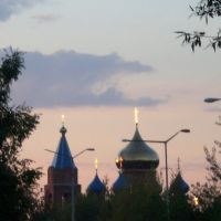 вечернее церковное сияние, Губаха
