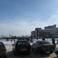 Площадь, Добрянка