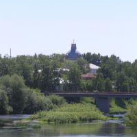 Мост через Обву в селе Карагай, Карагай