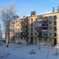 ул. Юных Коммунаров, 38, двор, Кизел