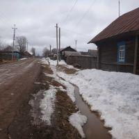 Коса, ул. Колхозная, весна 2012, Коса