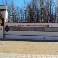 Монумент погибшим косинцам в Великой Отечественной войне., Коса