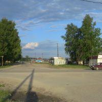 Перекрёсток Гагарина-Пионерская, Красновишерск