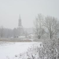 Первый снег, Краснокамск