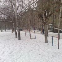 Всё в снегу, Краснокамск