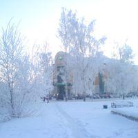 Зима в Кудымкаре, Кудымкар