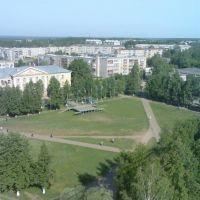 С высоты птичьего полета, Кудымкар
