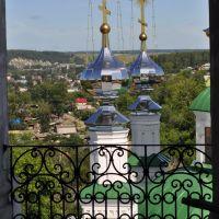 Вид с колокольни Тихвинской церкви, Кунгур