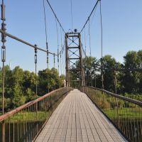 Навесной мост через Сылву, Кунгур