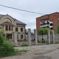 Особняк и рядом общежитие железнодорожников, Кунгур