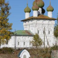 Свято-Никольская церковь, Ныроб