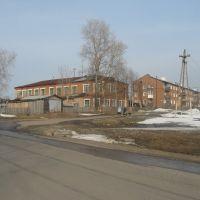 Перекресток улиц Ворошилова и Маяковского, Ныроб