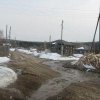 Перекресток улиц Флоренко и Зеленой (май 2009), Ныроб