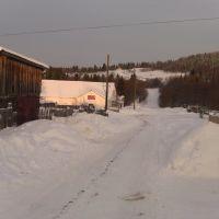 Зимой от бара подняться по льду бывает сложно, Ныроб