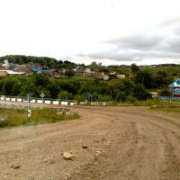 Вид на Атнягузи., Октябрьский