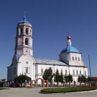 Пермский край с.Орда. Церковь Ильи Пророка., Орда