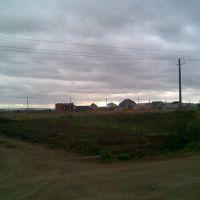 Вид с севера на микрорайон Мелиораторов 2 очередь, Оса