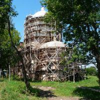 Реставрация храма, Оханск