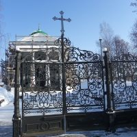 Ворота в храм - The gate to the temple, Очер