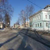 Главная улица Очёра - The main street Ocher, Очер