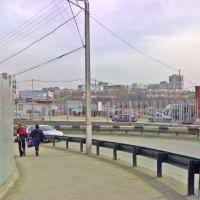 Вид на город (Центральный рынок), Пермь