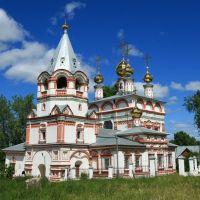 Bogoyavlenskaya Church in Solikamsk city., Соликамск