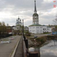 колокольня вид со стороны р. Усолки, Соликамск
