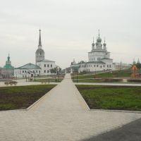 Обновлённый сквер 20.08.10, Соликамск