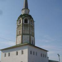 Соборная колокольня - символ Соликамска., Соликамск