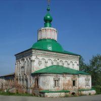 Соликамск, Крестовоздвиженский храм., Соликамск