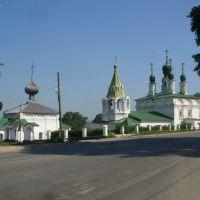 Соликамск, Введенская и Преображенская церкви., Соликамск
