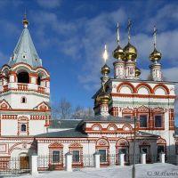 Богоявленская церковь в марте, Соликамск