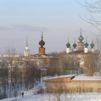 Архангельская и Спасская церкви, Соликамск