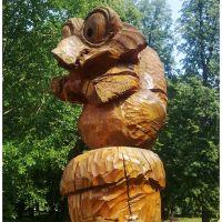 Белка из Ледникового периода (деревянная), Суксун