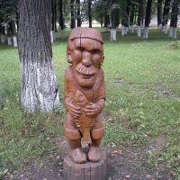 Деревянный дедушка, Суксун
