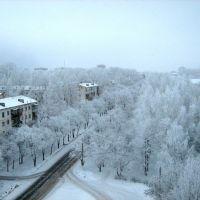 Вид на город зимой, Чайковский