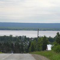 Панорама села Частые, Частые