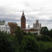 Вид на Воскресенский собор, Чердынь