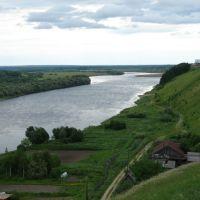 Река Колва, Чердынь