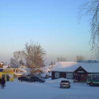 ЧЕРДЫНЬ, автовокзал февр. 2009., Чердынь
