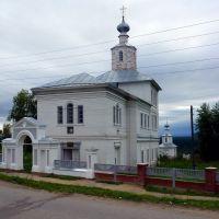 Успенская церковь и Спасская часовня, Чердынь, Чердынь