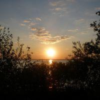 Утро на Камском водохранилище., Чернореченский