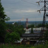 Чусовой - вид на завод, Чусовой
