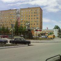 Площадь у Автовокзала 06.2010, Чусовой